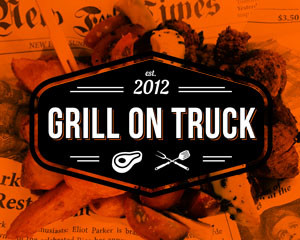 Grill on Truck