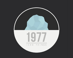 1977. Iced things